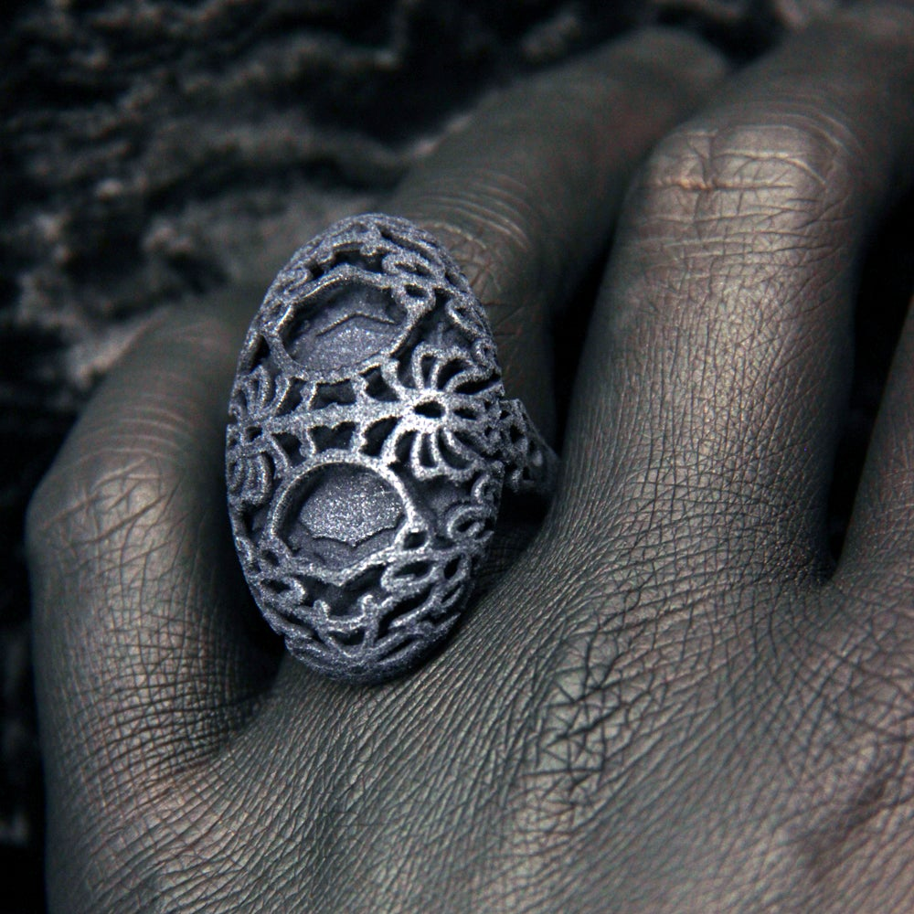 Image of 3D printed ring OVAL.1