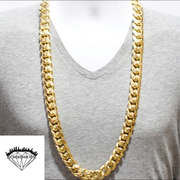 Image of 20mm 1kilo Cuban Link Chain 36""