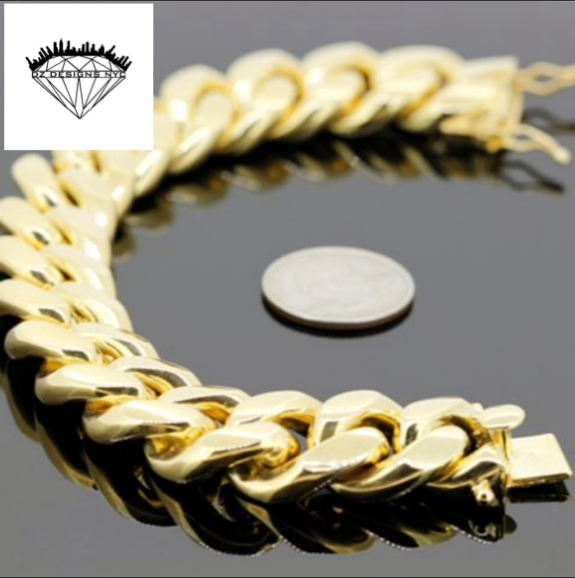 Image of 20mm Cuban link Bracelet