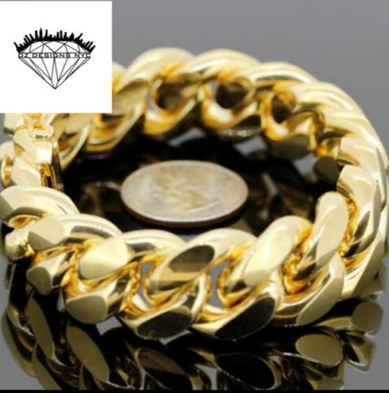 Image of 20mm Cuban link Bracelet