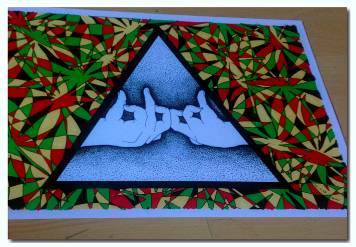 Image of 'Blood' Print.