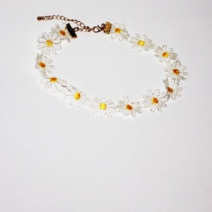 Image of Don't Eat The Daisies Choker Necklace