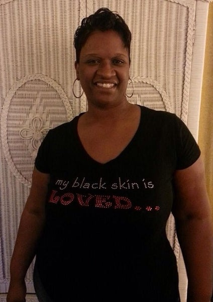 Image of my black skin is LOVED...