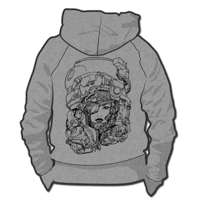 Image of Helmet Girl *Hoodie & Crewneck Sweater*
