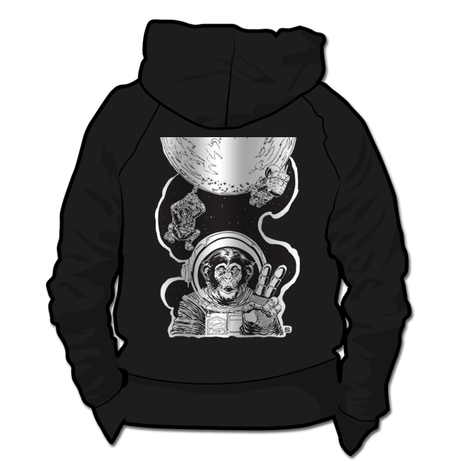 Image of Moonrock Monkeys *Hoodie & Crewneck Sweater*