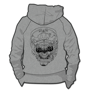 Image of Helmet Girl Skull *Hoodie & Crewneck Sweater*