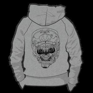 Image of Helmet Girl Skull *Hoodie & Crewneck Sweater*
