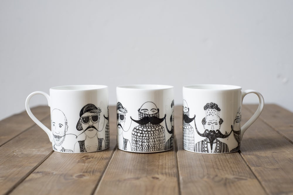 Image of Magnificent Moustaches Mug