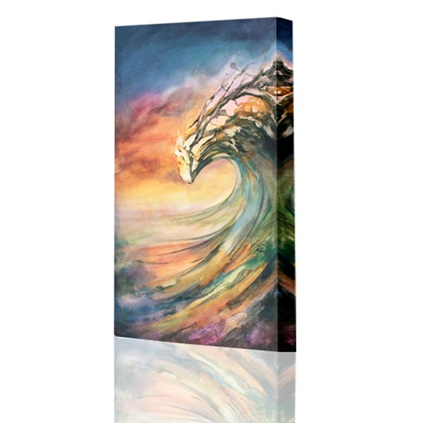 Image of Sunset Peaking Giclee Print
