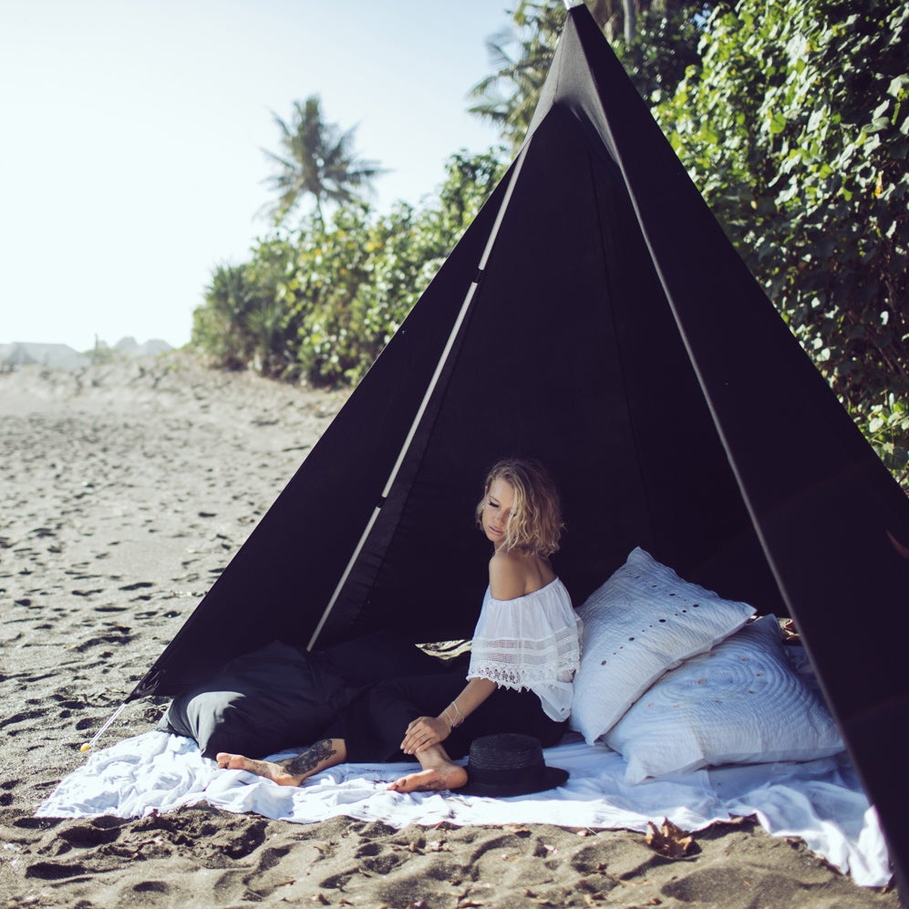 Black Beachtipi All Sizes Ginger Amp Gilligan Supply Co