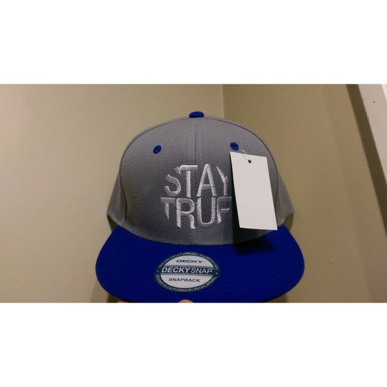 Image of Stay True (Gray/Blue) Hats