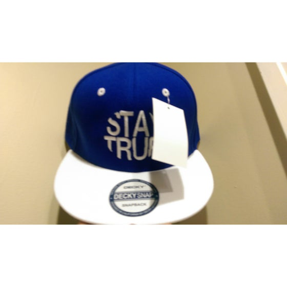 Image of Stay True (Blue/White) Hats