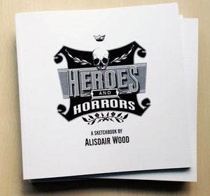 Image of Heroes & Horrors Sketchbook
