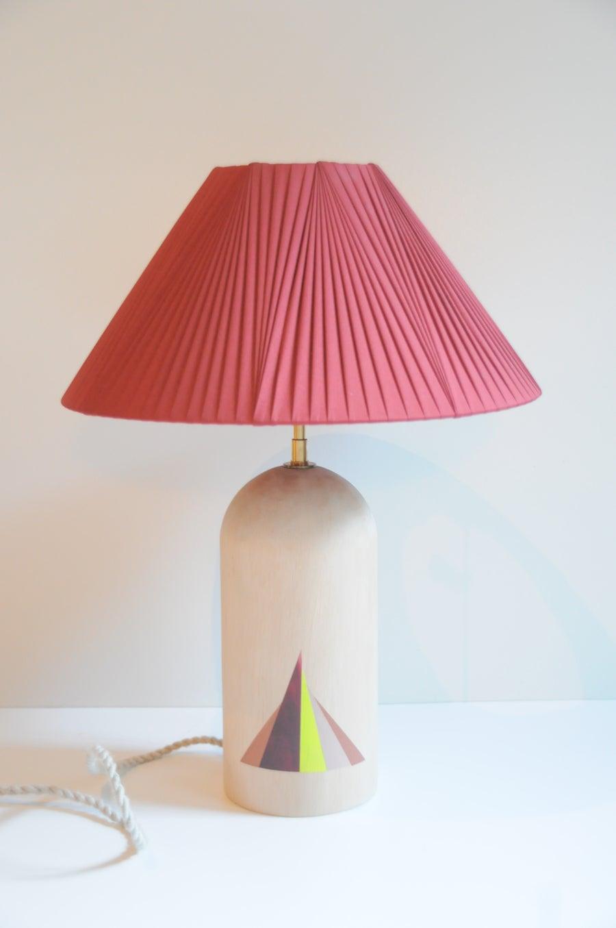 Image of lampe motifs géométriques