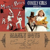 Image of Manly Boys & Comely Girls Double Pack by Gareth Brookes and Steve Tillotson