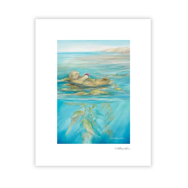 Image of Sea Otter, Archival Paper Print