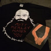 Image of M.K.H.Y. Shirt and Kill The Lights book combo