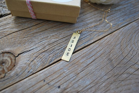 Image of ABIDE necklace