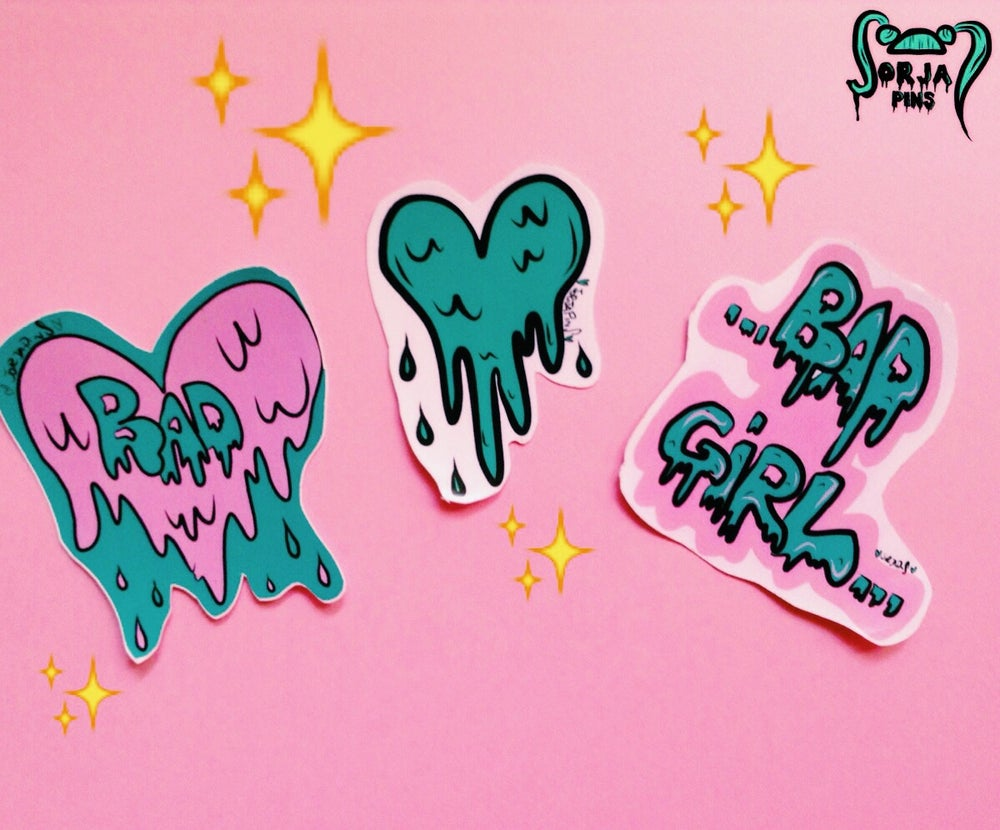Image of BAD GIRLS STICKERS SET