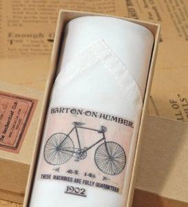 Image of Men's Single Handkerchief: Bicycle