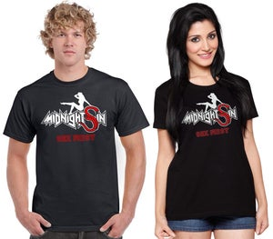 Image of midnight Sin logo T-shirt