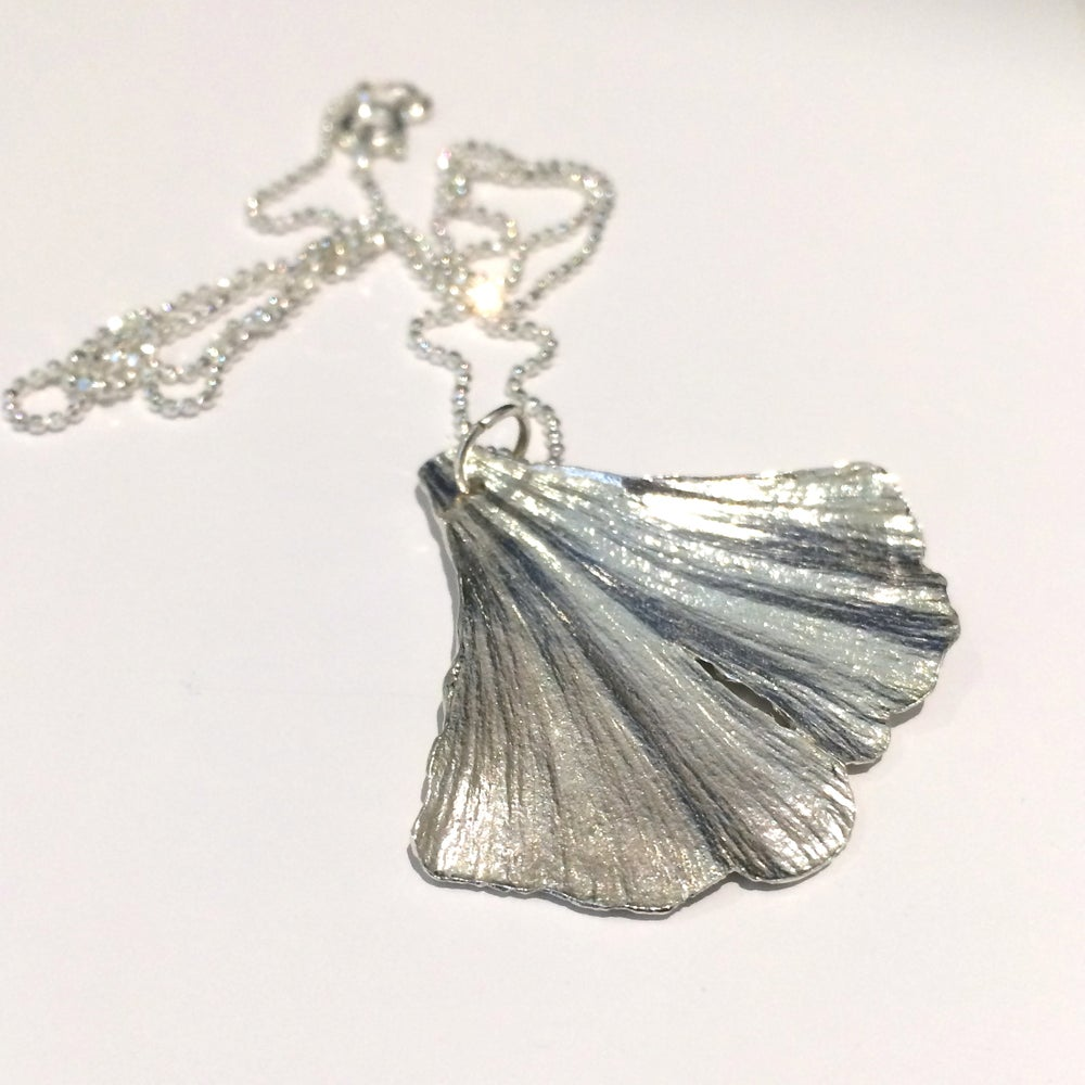 Image of Ginkgo Leaf necklace