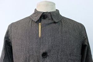 Image of 1920'S FRENCH SALT N' PEPPER TEACHER COAT