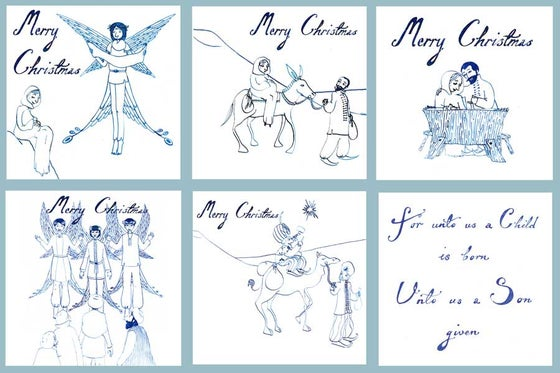 Image of Nativity Christmas Cards