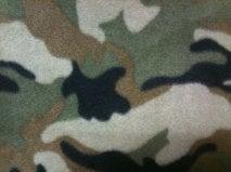 Image of Green Camo Helmet Hood