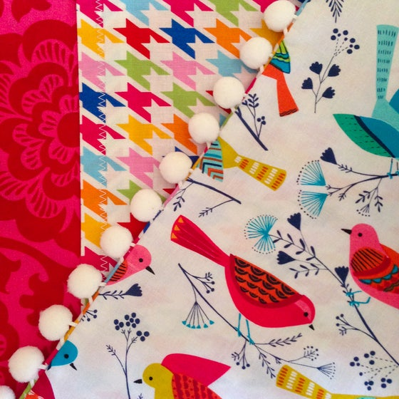 Image of Colorful Birds Pillow Sham