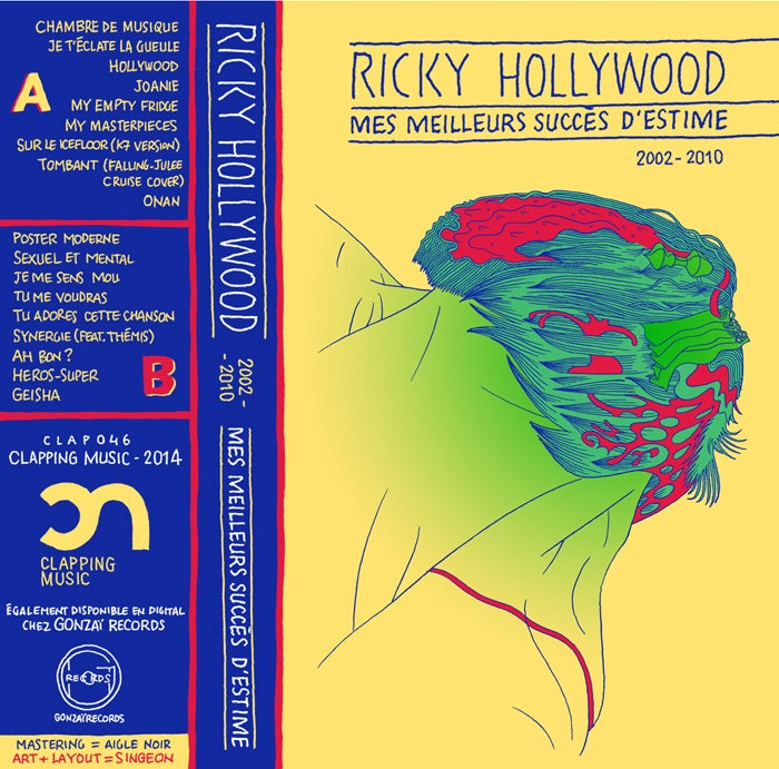 Image of Ricky Hollywood - Mes meilleurs succès d'estime 2002 - 2010 (tape)