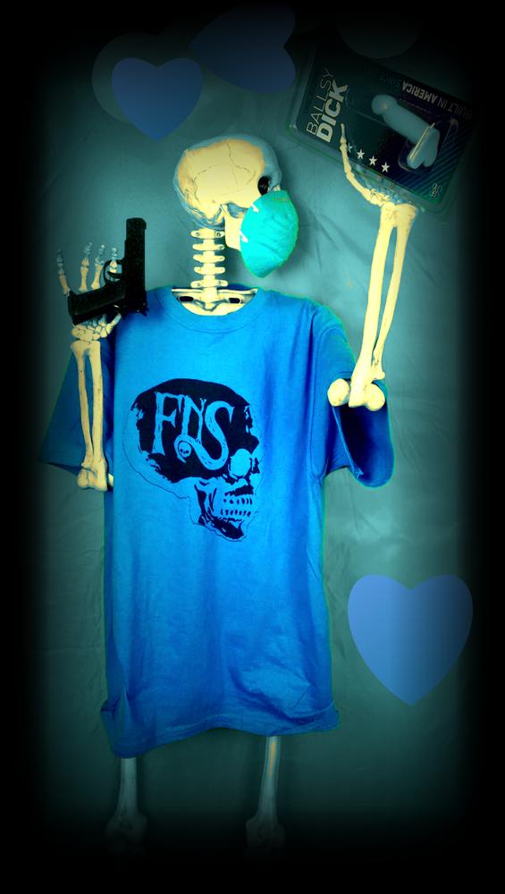 Image of fNS Blue Ballz Shirt