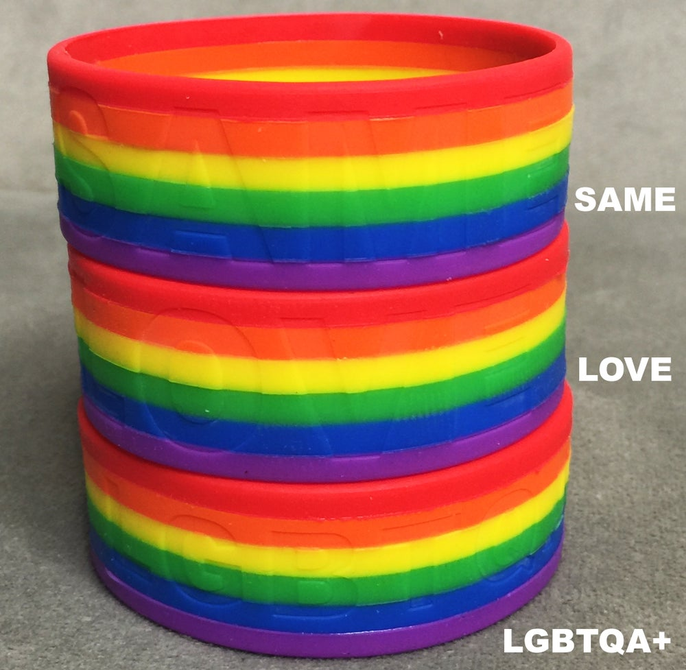 Image of RAINBOW BRACELETS