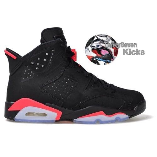 "Image of Jordan Retro 6 ""Black Infrared"" Preorder"