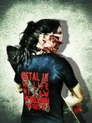 Image of ZUUL FX-TShirt Logo - Girl - (Back & Front)