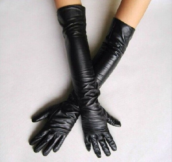 Image of Jolie's Winter Leather Gloves