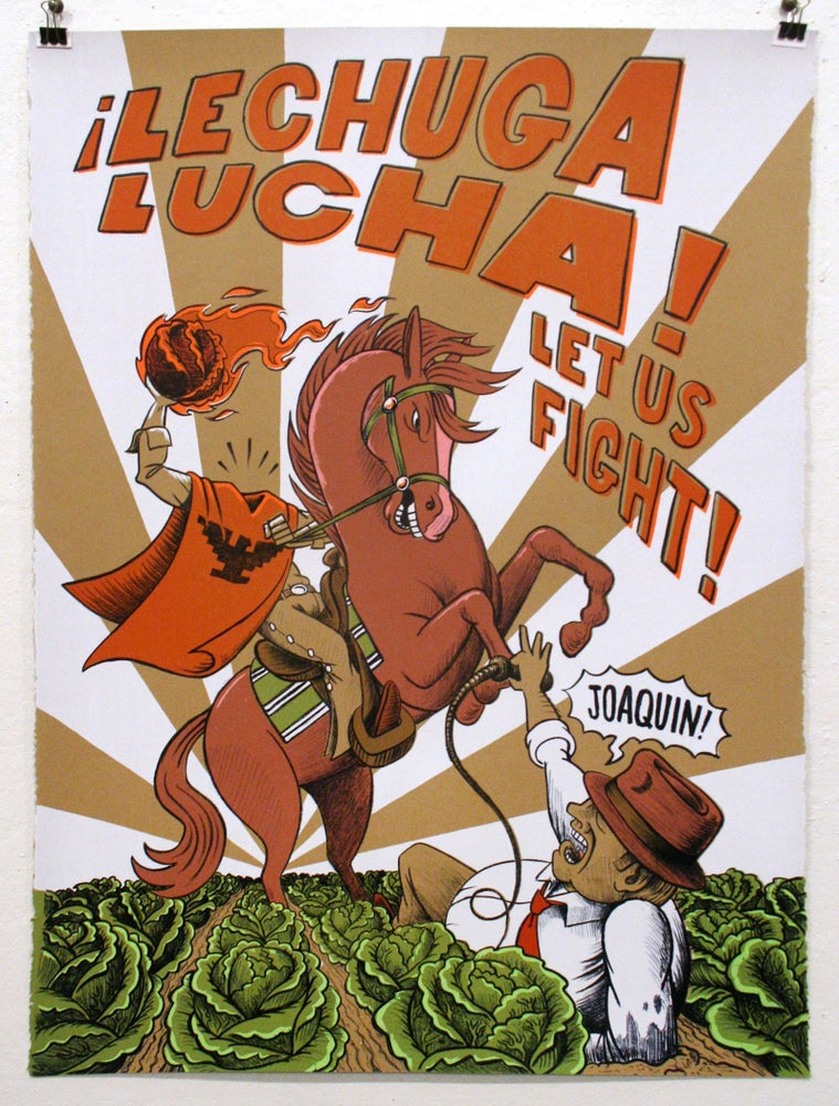 "Image of ""Lechuga Lucha"" by Eric Garcia"