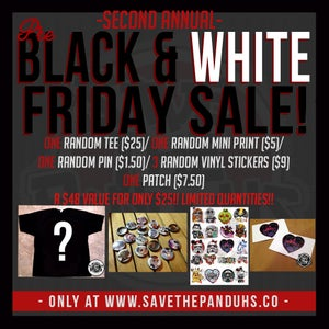 Image of Pre Black & White Friday SALE!