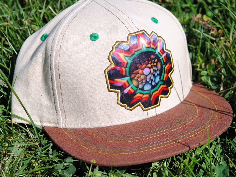 Image of Carver B x Grassroots Snapback and Fitted Hats