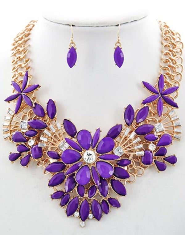 Image of Pure Purple Necklace ^ Ships 11/22