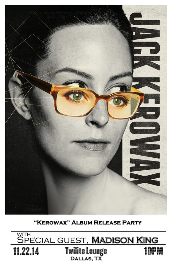 Image of Jack Kerowax Poster (11 X 17)