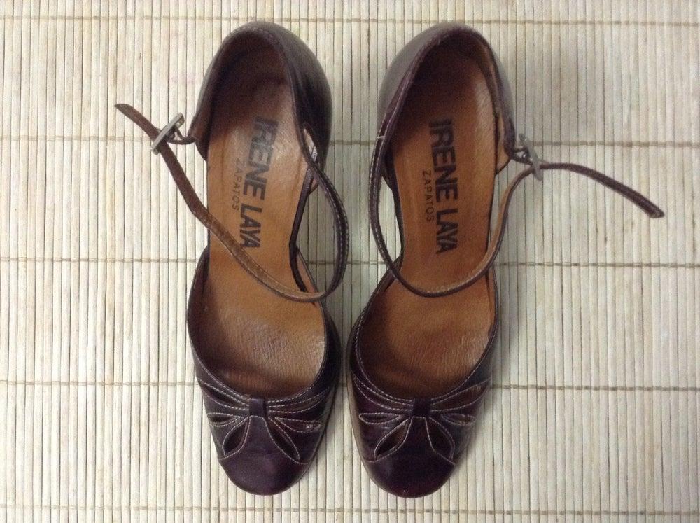 Image of Zapatos estilo vintage Irene Laya