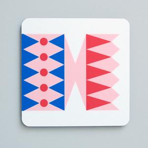 Image of Cracker coaster Pink