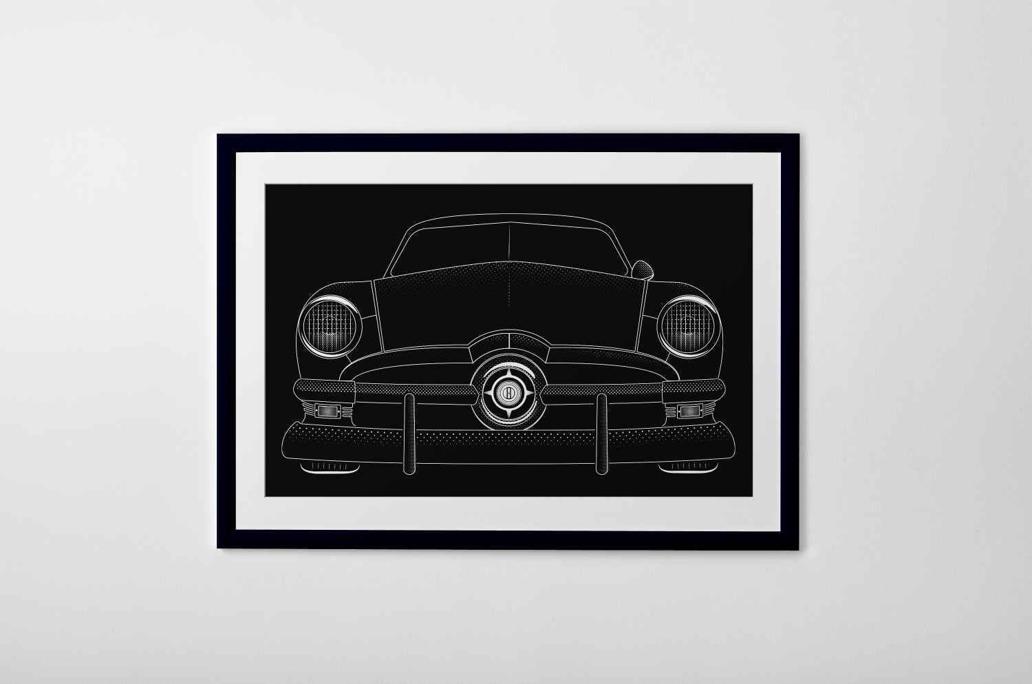 Image of 1950 FORD PRINT