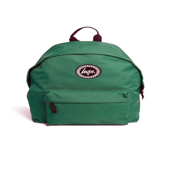 Image of HYPE. FOREST GREEN BACKPACK