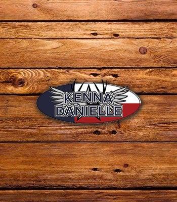 Image of Kenna Sticker