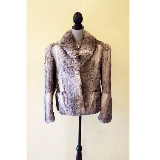 Image of Vintage 1970s Rabbit Fur Vest