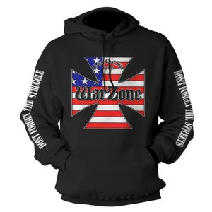 """Image of WARZONE """"Don't Forget The Struggle"""" Hoodie"""