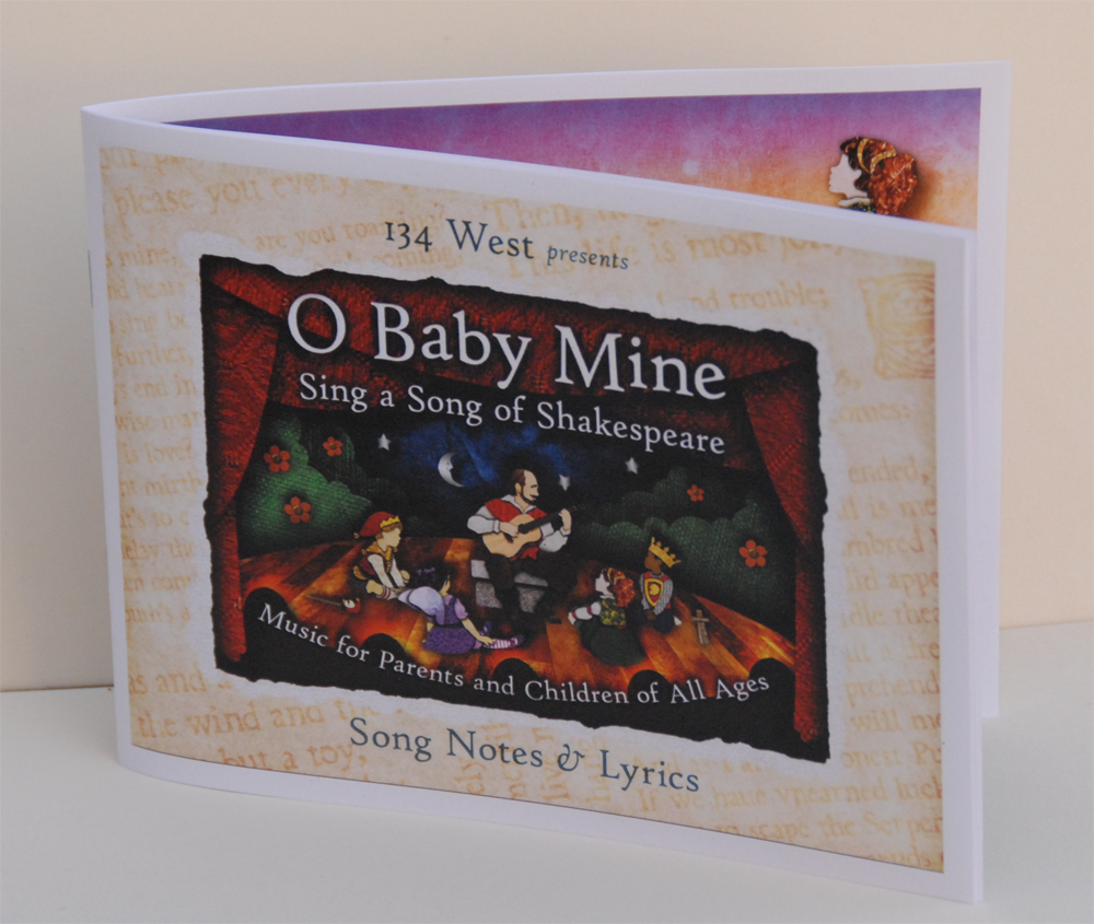 Image of O Baby Mine Lyric Booklet