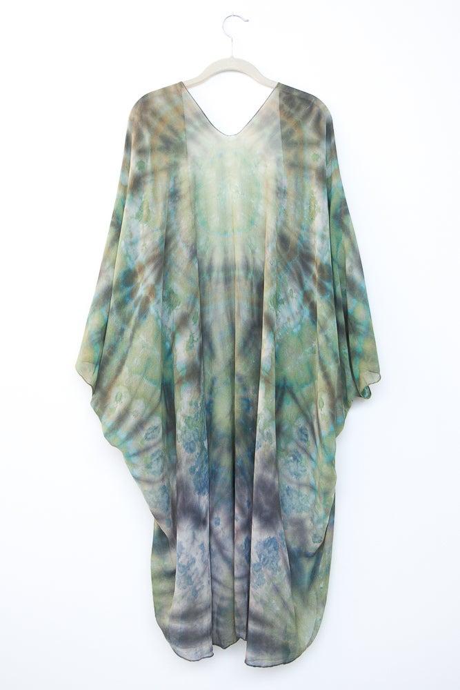 Image of Mother Earth Silk Kimono/Cape